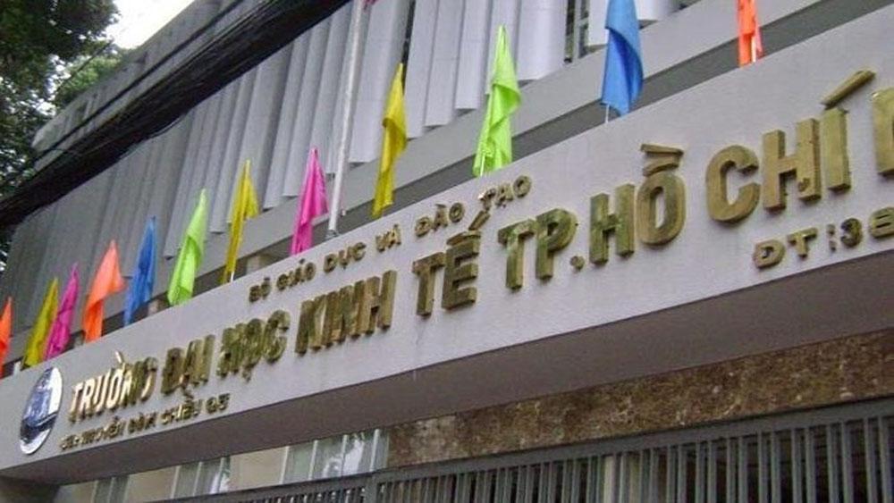 Giả mạo Trường Đại học Kinh tế TP Hồ Chí Minh thông báo tuyển sinh
